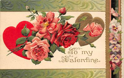 val300315 - Valentines Day Postcard