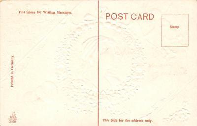 val300317 - Valentines Day Postcard  back