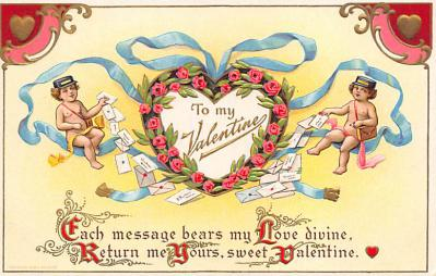 val300327 - Valentines Day Postcard