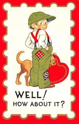 val300331 - Valentines Day Postcard