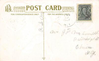 val300401 - To My Valentine Postcard  back