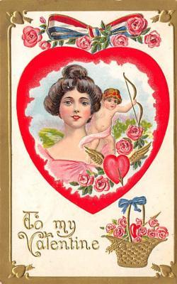 val300403 - To My Valentine Postcard