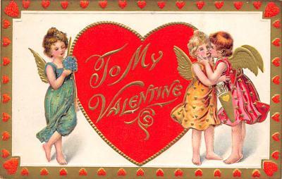 val300407 - To My Valentine Postcard