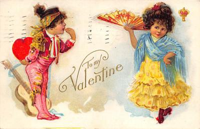 val300451 - To My Valentine Postcard