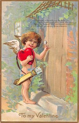 val300453 - To My Valentine Postcard