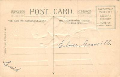 val300453 - To My Valentine Postcard  back