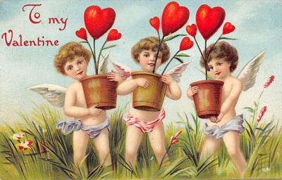 val300463 - To my Valentine Postcard