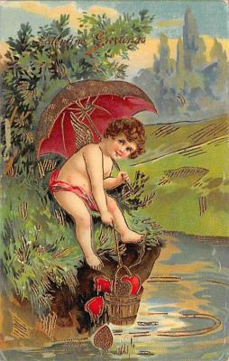 val300525 - Valentines Day Postcard