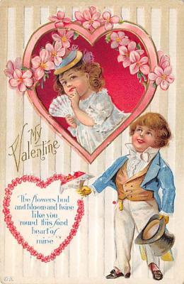val300547 - Valentines Day Postcard