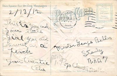 val300547 - Valentines Day Postcard  back