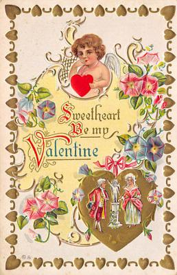 val300563 - Valentines Day Postcard