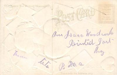 val300593 - Valentines Day Postcard  back