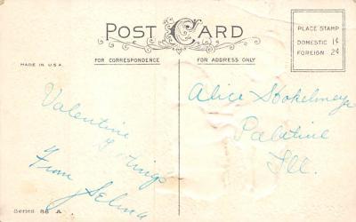 val300647 - Valentines Day Postcard  back