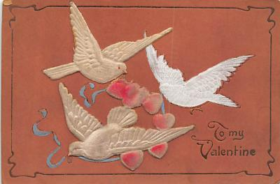 val300691 - Be My Valentine Postcard