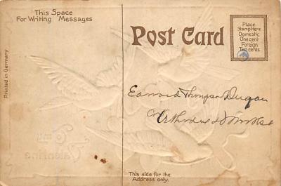 val300691 - Be My Valentine Postcard  back