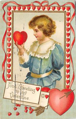 val300733 - Valentines Day Postcard