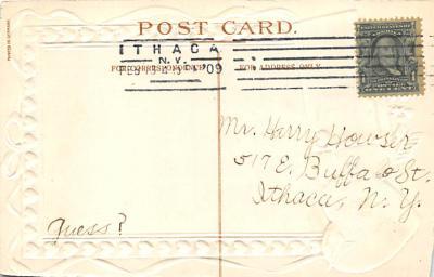 val300733 - Valentines Day Postcard  back