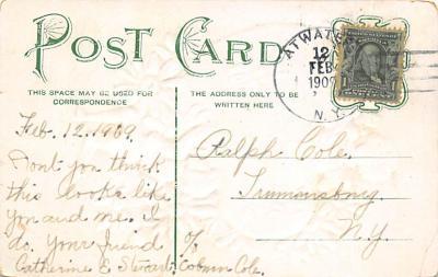 val300749 - Valentines Day Postcard  back