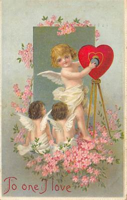 val300771 - Valentines Day Postcard