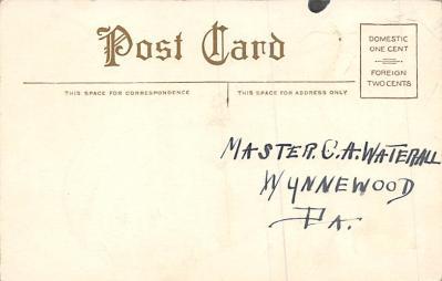 val300785 - Valentines Day Postcard  back