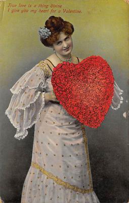 val300789 - Valentines Day Postcard