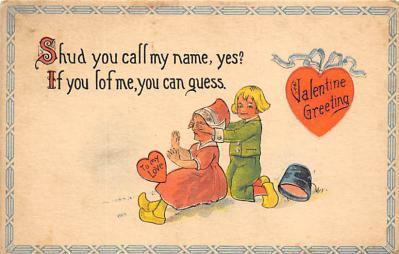 val310299 - St. Valentines Day Postcard