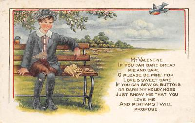 val310343 - Whitney Made St. Valentines Day Postcard