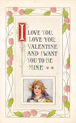 val310355 - St. Valentines Day Postcard