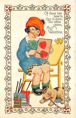 val310381 - St. Valentines Day Postcard