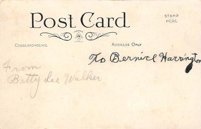 val310381 - St. Valentines Day Postcard  back