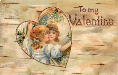 val310597 - Valentines Day Postcard