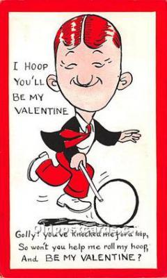 vin001091 - Vinegar Valentine Post Cards, Old Vintage Antique Postcards