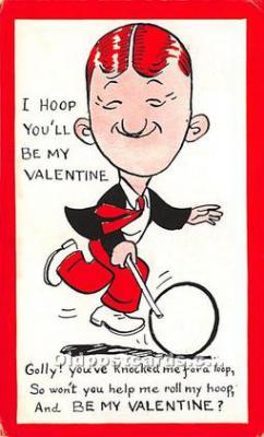 vin001092 - Vinegar Valentine Post Cards, Old Vintage Antique Postcards