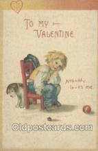 val001072 - Valentine's Day Postcard Postcards