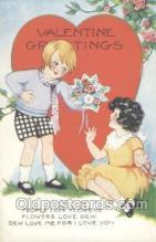 val001076 - Valentine's Day Postcard Postcards