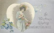 val001093 - Valentine's Day Postcard Postcards