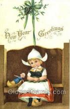 val001245 - New Years Greetings Postcard Post Card