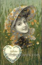 val001249 - Winch Valentine Day Postcard Post Card Old Vintage Antique