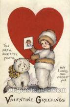 val001257 - Artist Margaret Evans Price, Valentine's Day Postcard Postcards