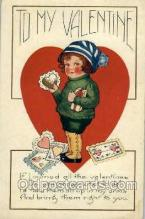 val001270 - Valentine's Day Postcard Postcards
