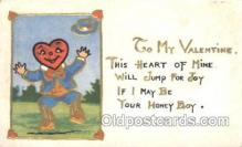 val001314 - Valentines Day Postcard Postcards