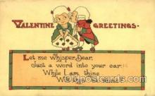 val001319 - Valentines Day Postcard Postcards
