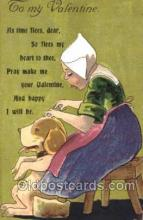 val001434 - Whitney, Valentines Day Postcard Postcards