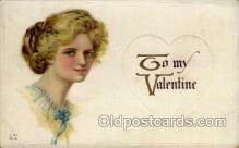 val001487 - Valentines Day Postcard Postcards