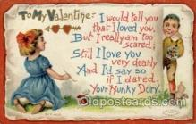 val001531 - Valentines Day Postcard Postcards