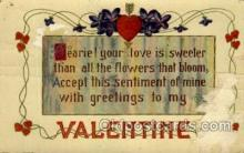 val001565 - Valentines Day Postcard Post Cards
