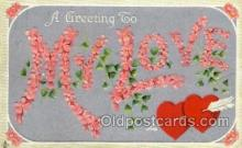 val001619 - Valentines Day Postcard Post Cards