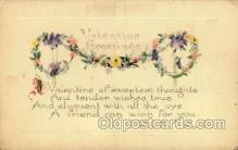 val001671 - Valentines Day Postcard Postcards