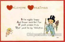 val001681 - Valentines Day Postcard Postcards