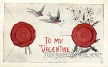 val001703 - Valentines Day Postcard Postcards